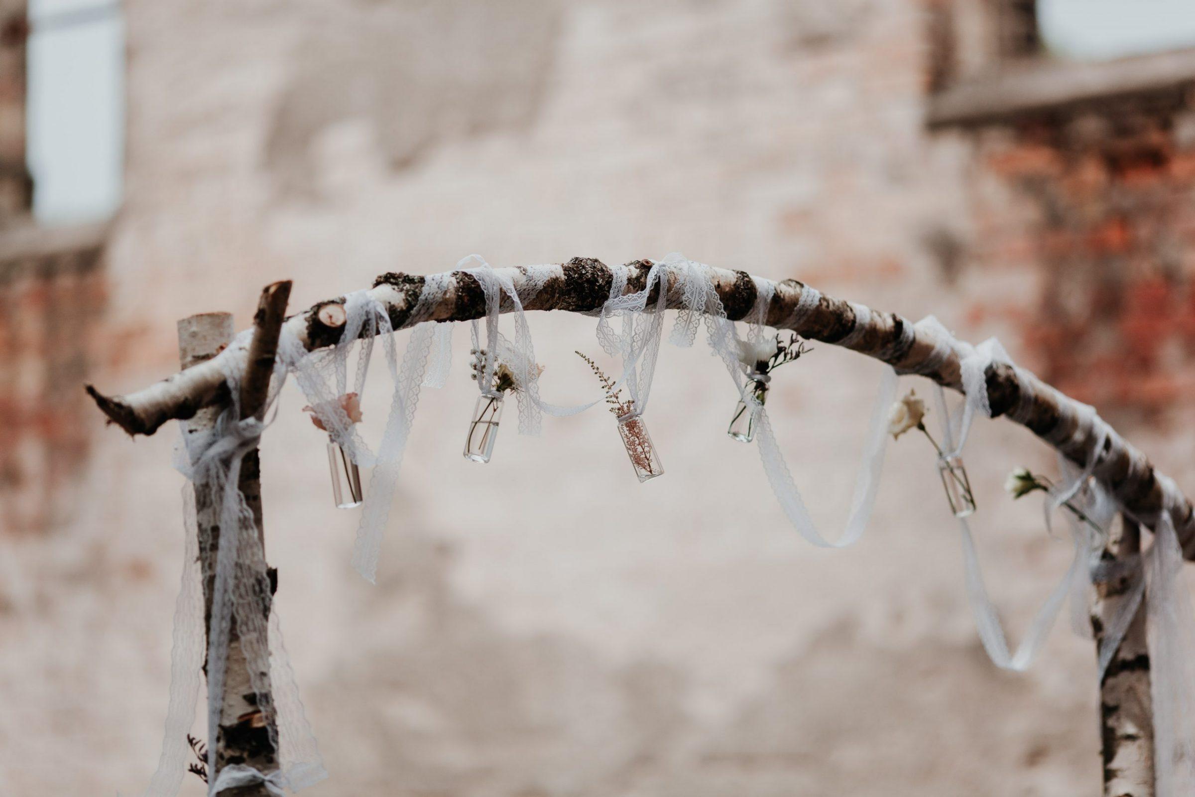 traubogen, wedding arch, boho wedding arch