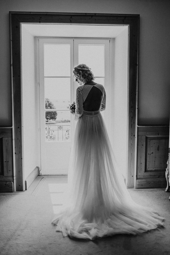 bride, window, bridal gown, lace, dress, lace gown